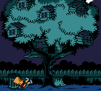 The Simpsons - Night of the Living Treehouse of Horror (Gameboy Color) - 78