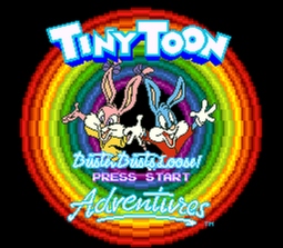 Tiny Toon Adventures - Buster Busts Loose! (SNES) - 01