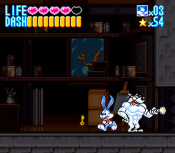 Tiny Toon Adventures - Buster Busts Loose! (SNES) - 09
