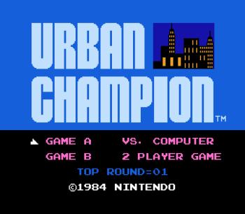 Urban Champion (NES) - 01