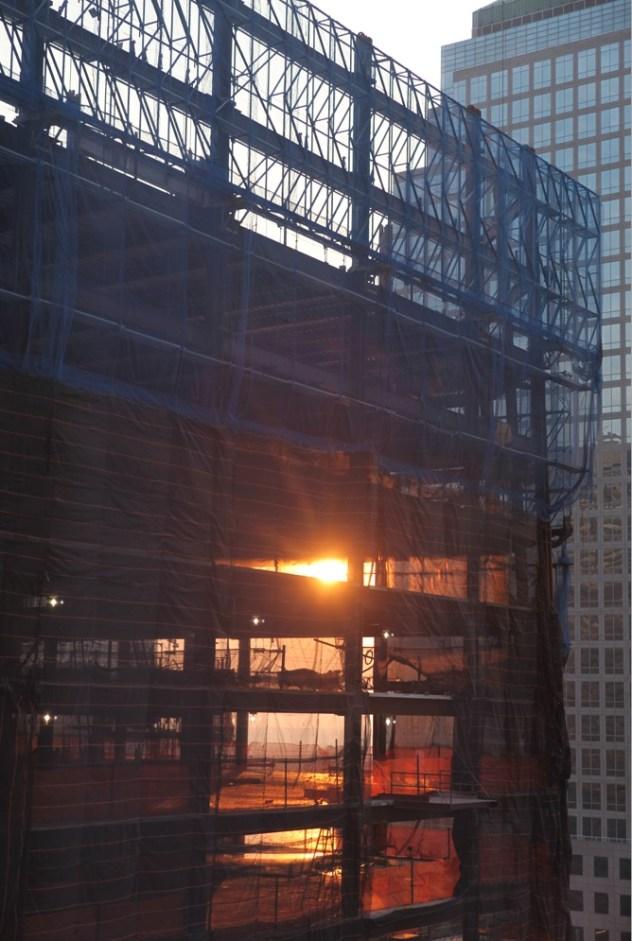 sunset-through-freedom-tower