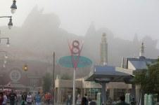 Foggy Morning over Radiator Springs