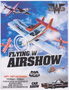 flying w air show