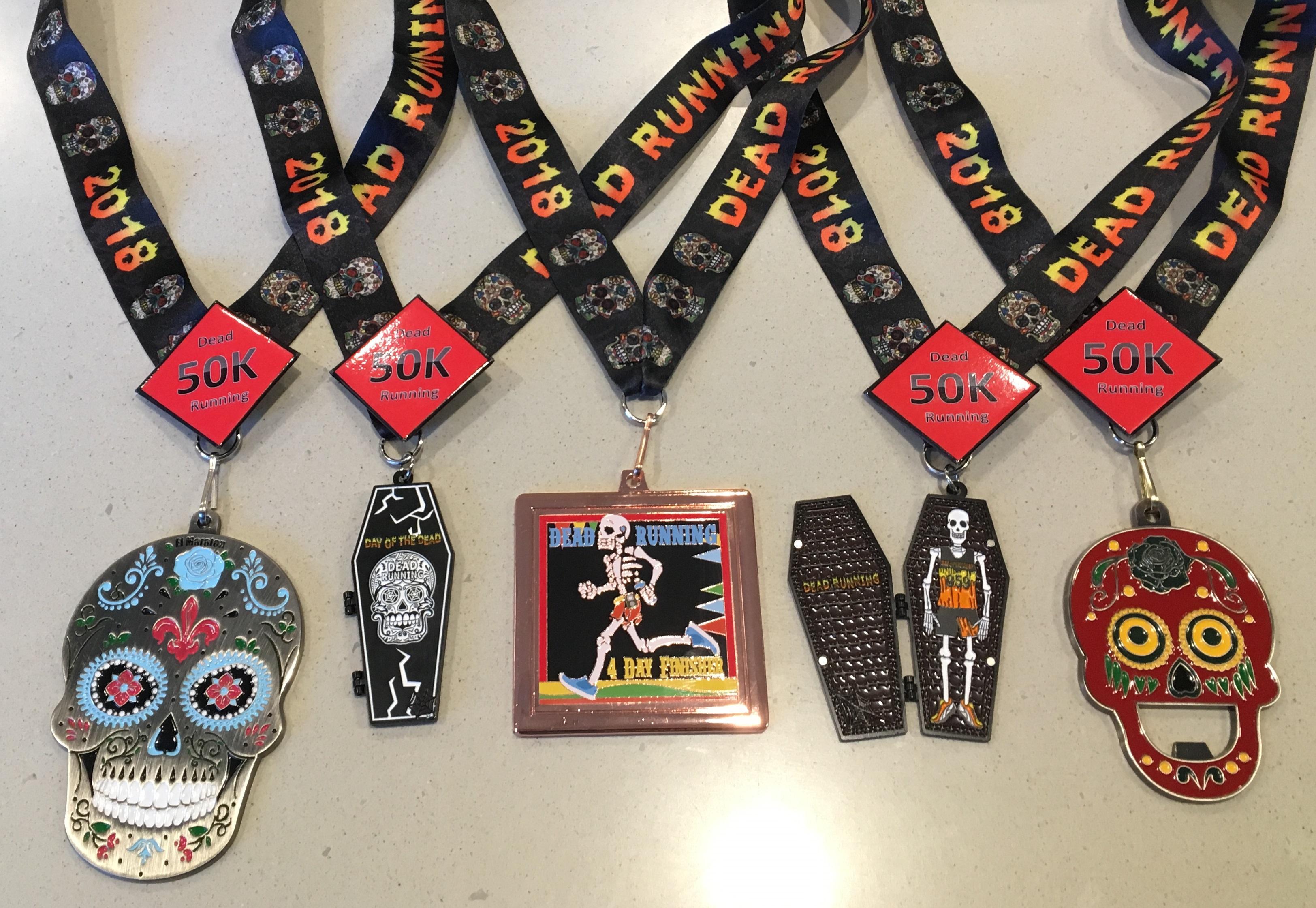 "2019 Fiesta Medal ""DAYVID The Dead"