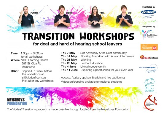 Transition Flyer