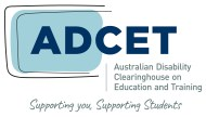 Australian Disability Clearinghouse on Education and Training logo