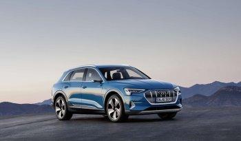 Audi e-tron lleno