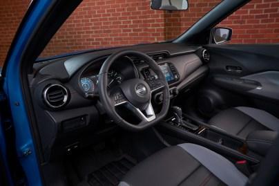 Nissan Kicks 2021 interior