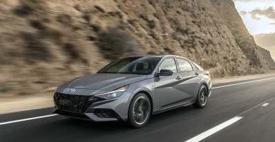 Hyundai Elantra N Line 2021 estadounidense