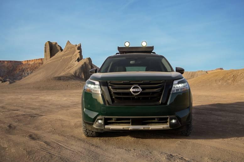 Nissan Pathfinder 2022 exterior