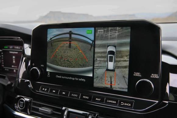 Nissan Pathfinder 2022 interior