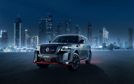 Crafted to Nissan Patrol NISMO exterior: The 2021 Nissan Patrol NISMO makes its global debut