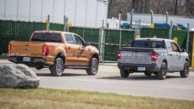 Ford Maverick 2022 con camulfaje