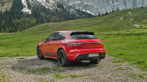 Porsche Macan 2022 exterior
