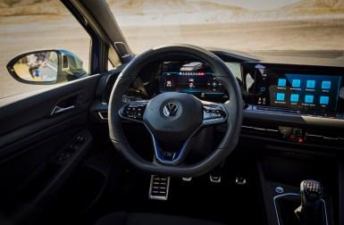 Volkswagen Golf R 2022 interior