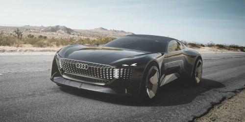 Audi Skysphere concept: Así es el nuevo prototipo eléctrico de Audi