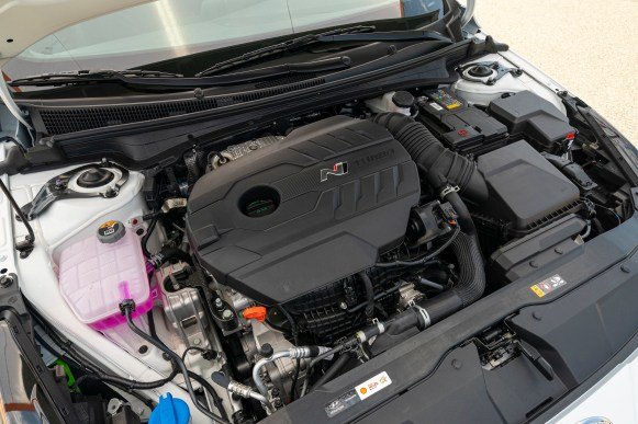 Hyundai Elantra N 2022 motor