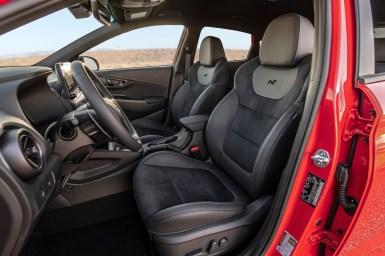 Hyundai Kona N 2022 interior