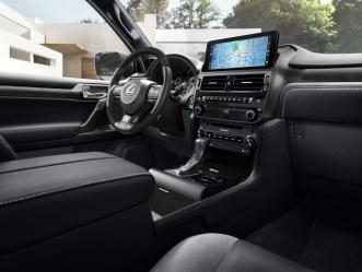 Lexus GX Black Line 2022 interior