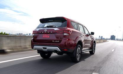 Nissan Terra 2022 exterior