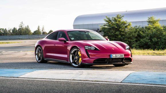 Porsche Taycan 2022 exterior