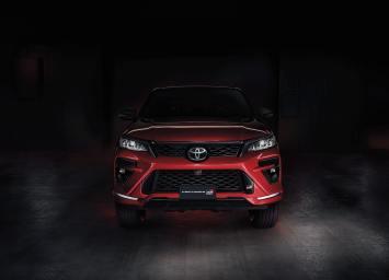 Toyota Fortuner GR-Sport 2022 exterior