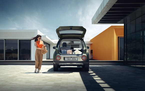 Hyundai Casper 2022: interior
