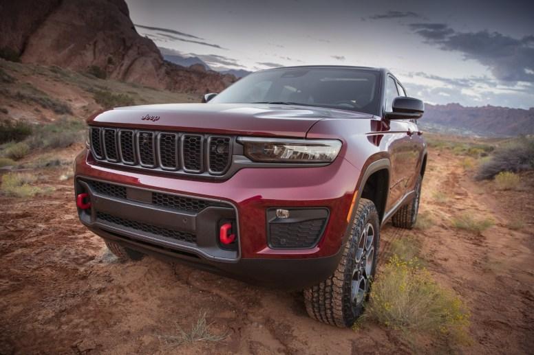 Jeep Grand Cherokee 2022 Trailhwak