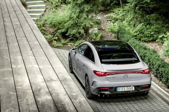Mercedes-Benz EQE: exterior