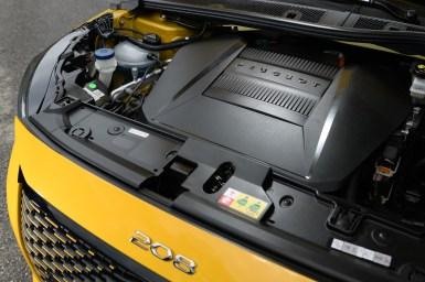 PEUGEOT e-208 GT: Motor