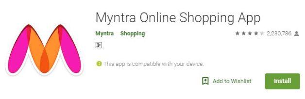 (Shopping guide)World Best Online Shopping Apps 2019 Myntra
