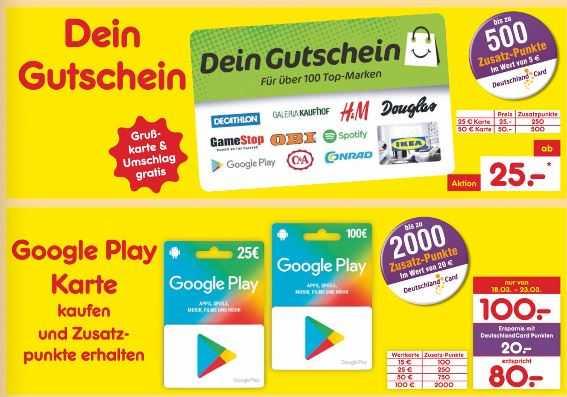 Nettiscount 10 Durch Deutschlandcardpunkte Zb Auf