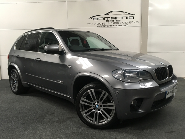 Bmw X5 3 0 Xdrive30d M Sport 5dr Automatic For Sale In Sheffield
