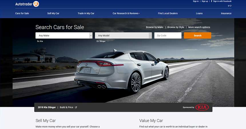 all new autotrader brings more trust and speed to online car shopping and buying dealer marketing. Black Bedroom Furniture Sets. Home Design Ideas