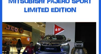PAJERO SPORT LIMITED EDITION 2019