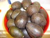 A bowl of avocados