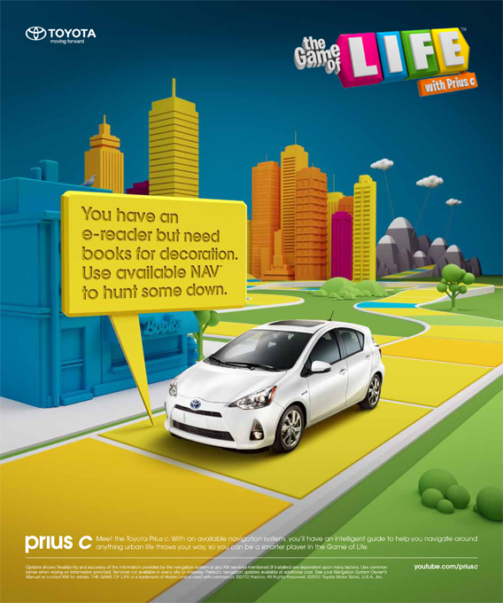 Dealership Integrated Marketing - Toyota Print Ad