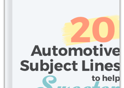 20 Summer Subject Lines For Auto Dealers