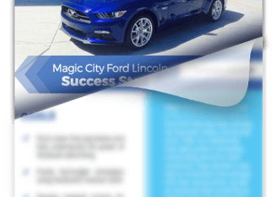 Auto Dealer Success Story Facebook Advertising