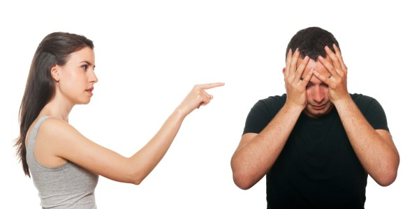 Unhappy young couple having an argument | Dealing with ...