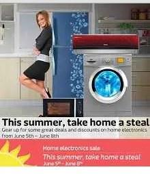 flipkart home electronics sale.