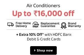 flipkart home electronics sale air conditioners