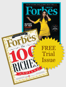 Forbes India Free trail issue
