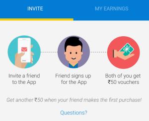 flipkart refer and earn Rs 50 voucher