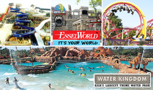 Cleartrip app- Buy Entry Ticket for Essel World at Rs 272 (Adult/Child) or Rs 10 only (Senior Citizen)