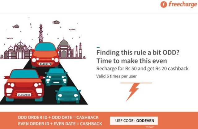 Freecharge- Get Rs 20 cashback on Recharge & Bill Payment of Rs 50