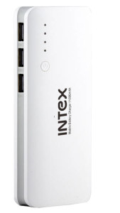 Paytm Steal – Intex IT-PB11K 11000 mAh Power Bank (White) at Rs. 529