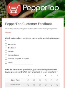 PepperTap – Complete the Survey and Get 50 PepperCash