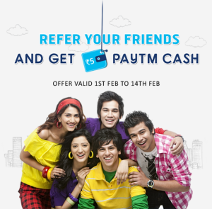 Indiebarter Offer – Refer and earn Rs 5 paytm cash per friend