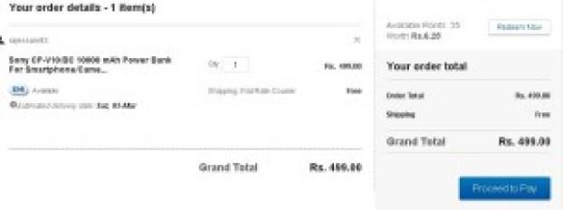 Ebay- Buy Sony CP-V10 10000 mAh Power Bank2